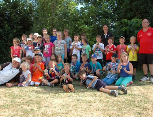 Kinder Tenniscamp in Weikendorf im Sommer 2019