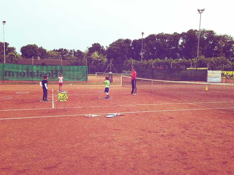 Kinder-Tennistraining Weikendorf für Saison 2019