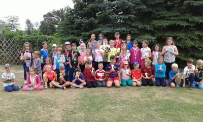 Gruppenbild Tenniscamp 2017