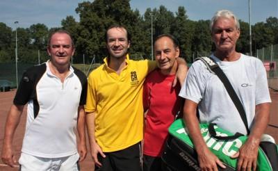 Herbert Prohaska, Paulus Adelsgruber, Manfred Siegl, Helmut Maurer