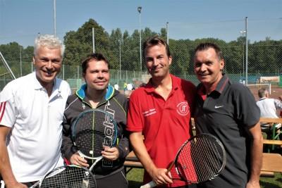 Toni Polster, Thomas Joni, Bernhard Preh, Christian Ornauer