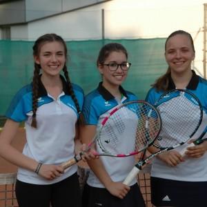 U18w: Lisa Maria Kunz, Astrid Kral, Barbara Krizan