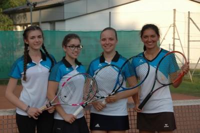 U18w: Lisa Maria Kunz, Astrid Kral, Barbara Krizan, Kristina