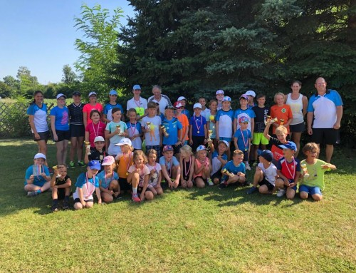 Kinder Tenniscamp in Weikendorf im Sommer 2020