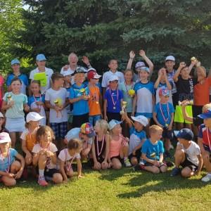Gruppenfoto Tenniscamp für Kinder 2019 TC Weikendorf