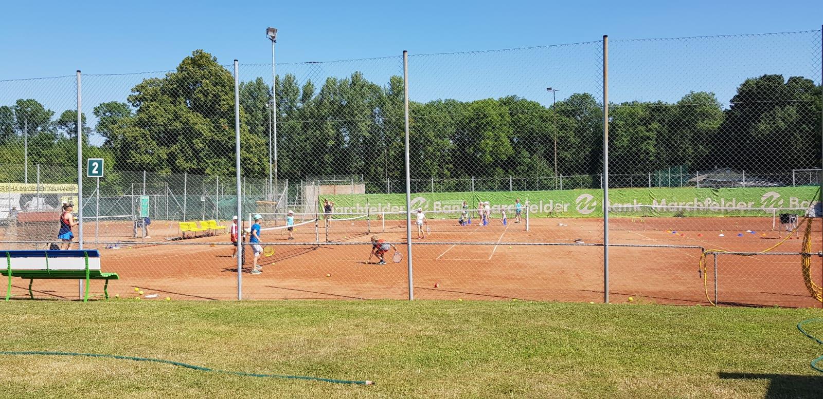 Tennistraining für Kinder TC Weikendorf